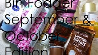 Bin Fodder | September + October Edition | ThatGallowayGirl Thumbnail
