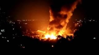 Kebakaran Dahsyat belakang senayan city