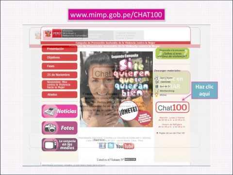 Guía de acceso CHAT 100