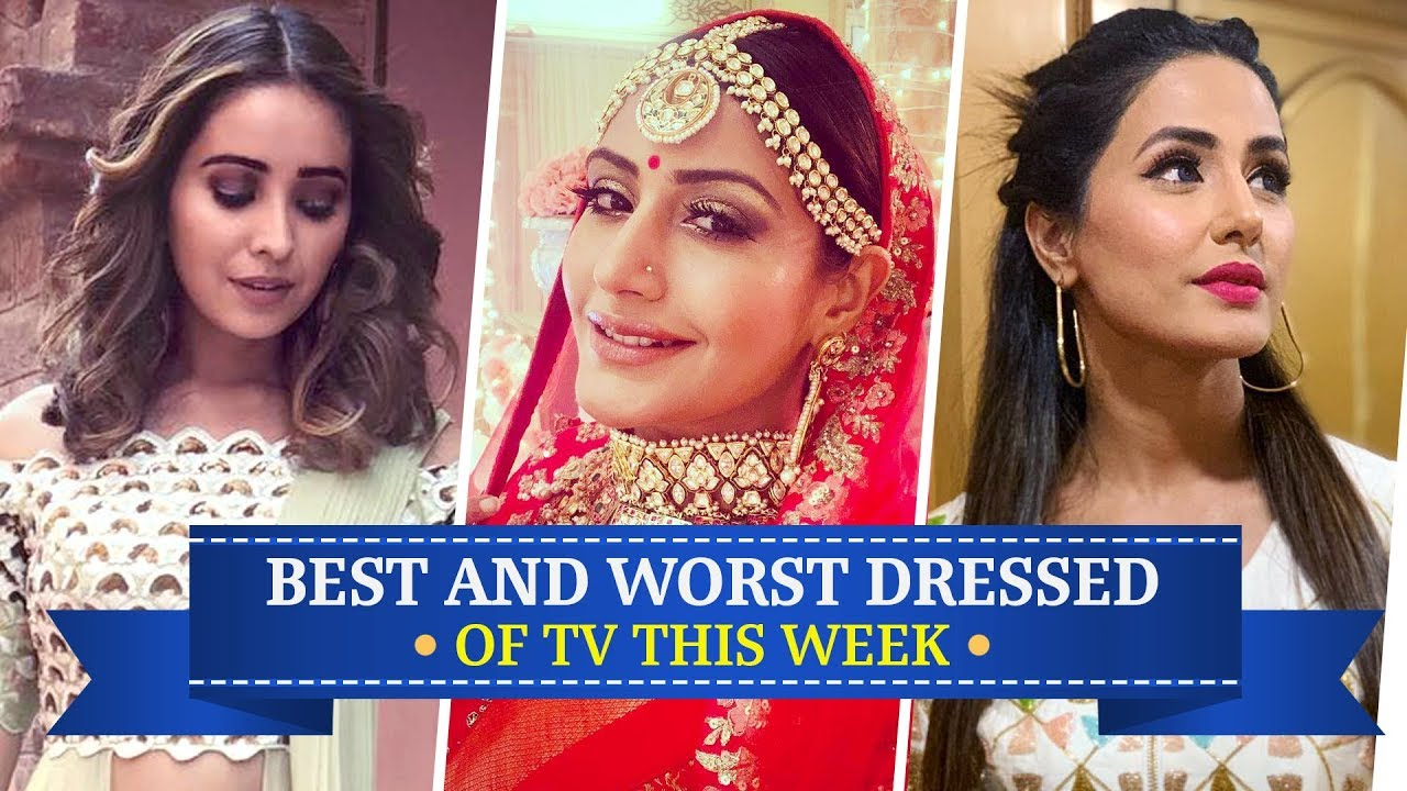 Hina Khan, Divyanka Tripathi, Surbhi Chandna: TV's Best and Worst Dressed of the Week | Fashion
