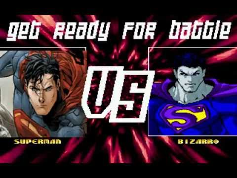 Mugen : Dc Comics : Superman Vs Bizarro