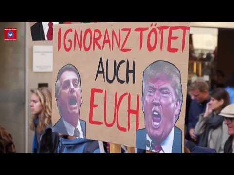 """Klimastreik-Großdemo in Münster - """"Wir wollen kein CO2 mehr"""" (Chorgesang von Singers For Future)"""