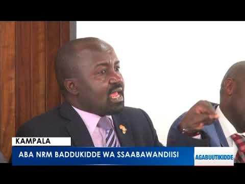 Aba NRM baddukidde wa Ssaabawandiisi