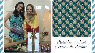 Natal sem Frescuras: embalagens de presentes criativas, baratinhas e lindas! Thumbnail