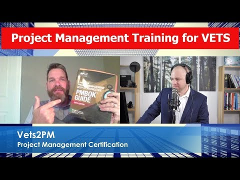 Project Management for Veterans - Part 2 - Eric Wright Vets2PM Founder