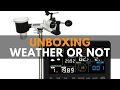 Ambient Weather WS-2902 Unboxing Solar Powered Wireless WiFi Remote Professional Weather Station