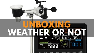 ambient weather ws 2902 unboxing solar powered wireless wifi remote professional weather station