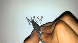 How to Draw Crown of a King