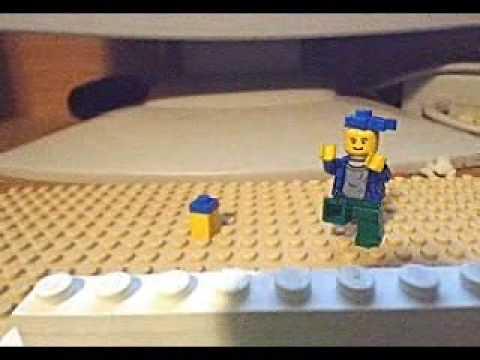 Corneil and Bernie in LEGO!