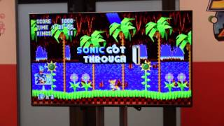 lets play sonic mania nintendo switch presse event 13012017