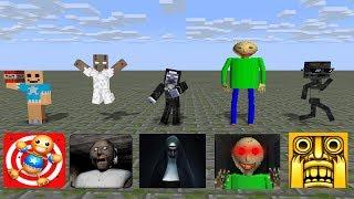 Monster School: SEASON 1 BEST ALL EPISODE - Minecraft Animation