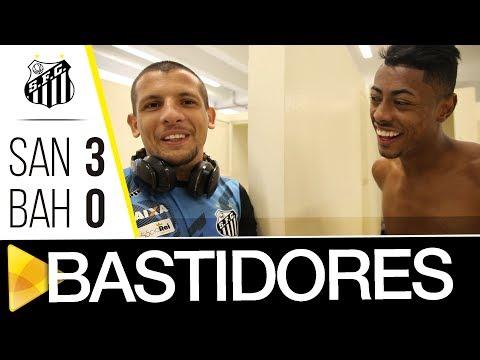 Santos 3 x 0 Bahia | BASTIDORES | Brasileirão (23/07/17)