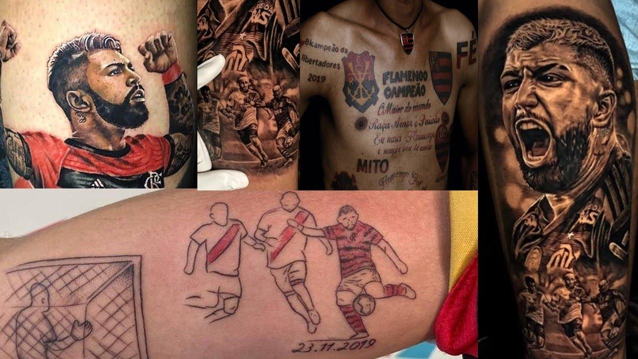 Melhores Tattoos Flamengo Campeão Tatuajem Flamengo