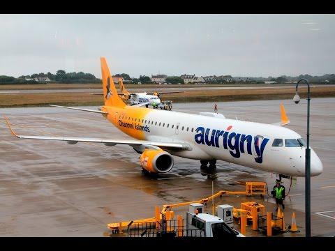 Aurigny   Embraer E195   GCI-LGW   Economy