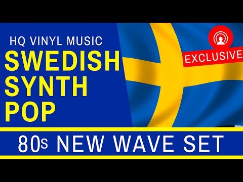 """❤️🇸🇪 """"SWEDISH"""" on Vinyl - Exclusive """"Synth Pop"""" and 80's """"New Wave"""" [80-talet SVENSKA MUSIK]"""