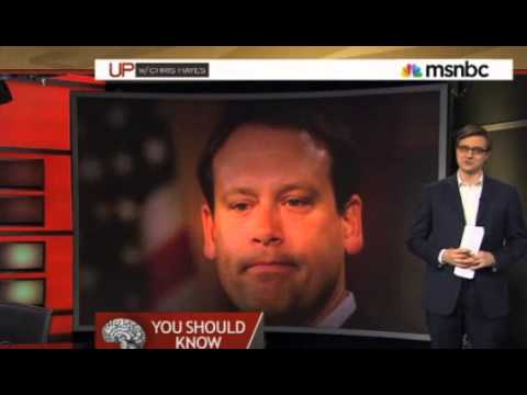Chris Hayes covers interview with Heath Shuler