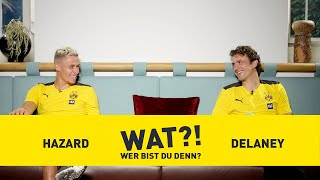 Who am I? | BVB-Challenge with Thomas Delaney & Thorgan Hazard