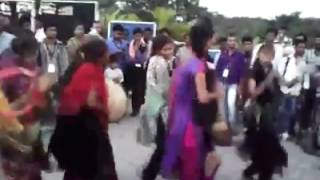 Indian Girls Amazing Dance Performance with Drums