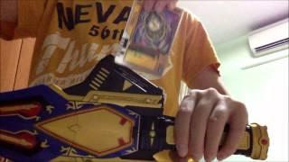 Kamen Rider Blade Demo: DX King Rouzer
