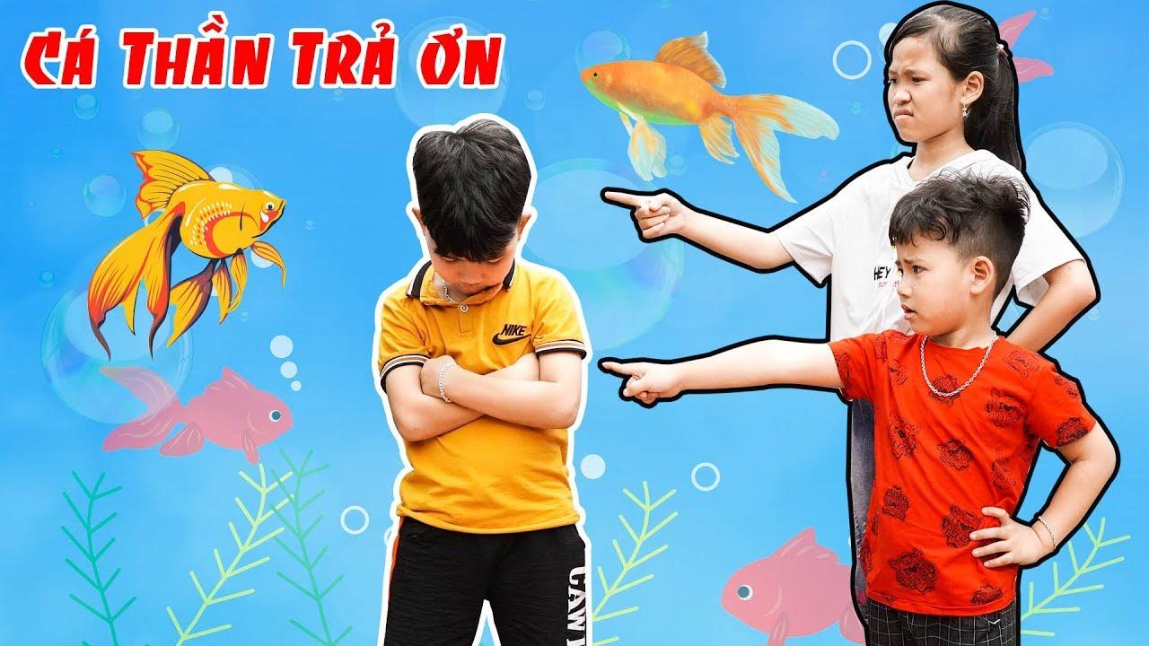 Cá Thần Trả Ơn Và Hai Chị Em Tham Lam – Bài Học Cho Bé ♥ Min Min TV Minh Khoa | Khái quát những kiến thức nói về cho bé học vẽ ở đâu tốt chuẩn nhất