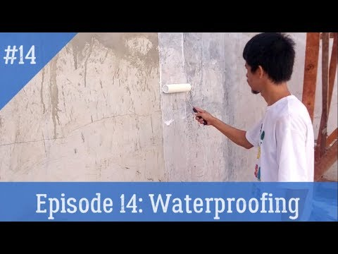 GO! MITCH  I  HOUSE RENOVATION: Waterproofing