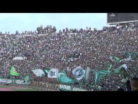 جمالية جمهور الرجاء المغربي في مباراة النجم الساحلي التونسي thumbnail