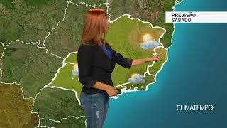 Previsão Sudeste - Chuva forte no RJ