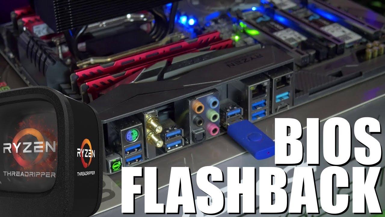 ASRock X399 Tiach Bios Flashback How-To