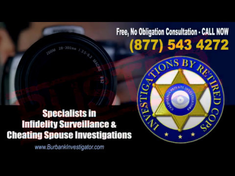 Private investigator for cheating spouse