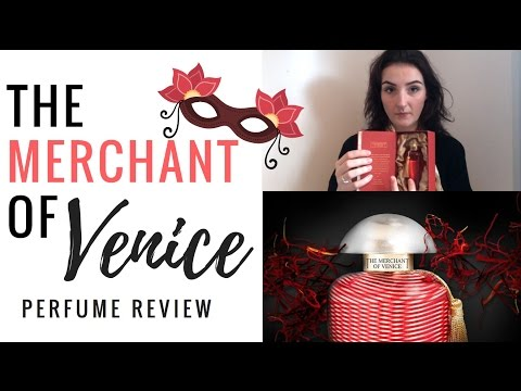 The Merchant of Venice perfume review + unboxing.