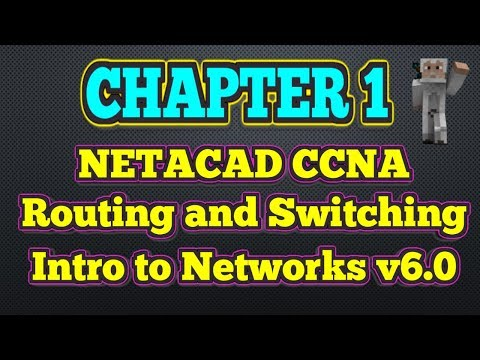 Cisco NETACAD Routing and Switching v6.0 - Chapter 1