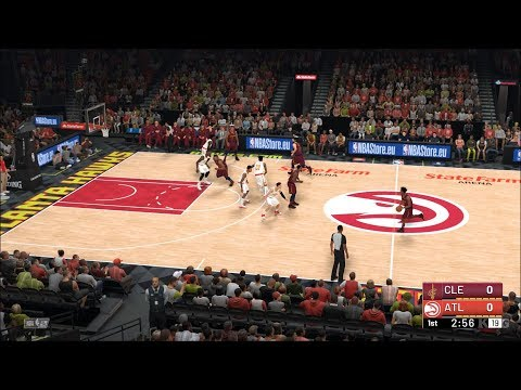 NBA 2K19 - Atlanta Hawks vs Cleveland Cavaliers - Gameplay (PC HD) [1080p60FPS]