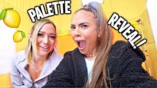 MY PALETTE REVEAL WITH ALISHA MARIE!🍋 Filming in a Studio!