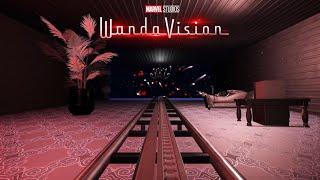 "【Disney】プラネットコースター ジェットコースター「ワンダヴィジョン」/ MARVEL's ""Wanda Vision"" Roller coaster at Planet Coaster"