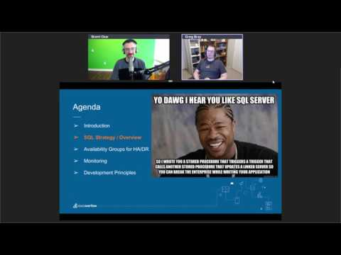 Keep It Simple, Make It Fast: The SQL Server Strategy at Stack Overflow with Greg Bray