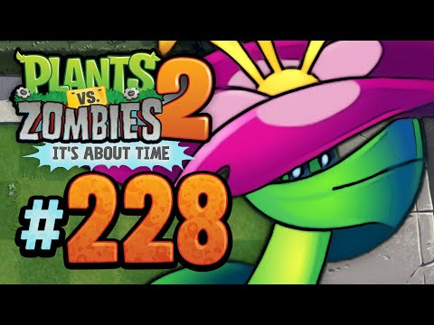 Plants vs. Zombies 2: It's About Time | Grimrose - Modern Day - 228 (iOS Gameplay Walkthrough)