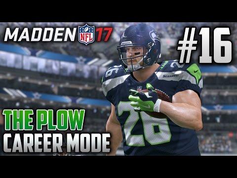 Madden 17 Career Mode | The Plow (HB) | EP16 | 95 YARD PUNT RETURN TD (Conference Championship 2018)