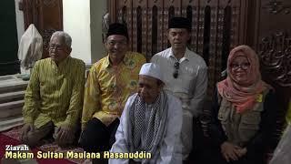 Video Ziarah ke Makam Sultan Maulana Hasanuddin di Masjid Agung Banten download MP3, 3GP, MP4, WEBM, AVI, FLV September 2019