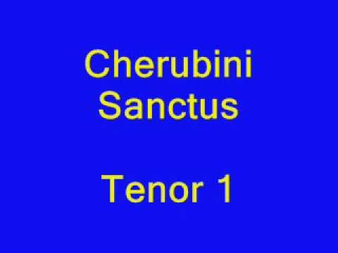 Cherubini Sanctus tenor1