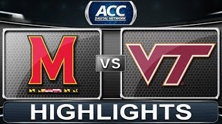 2013 ACC Football Highlights | Maryland vs Virginia Tech | ACCDigitalNetwork
