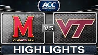 2013 ACC Football Highlights | Maryland vs Virginia Tech | ACCDigitalNetwork