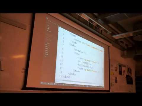 Livekoding av en chat-app med Angular.JS og Socket.IO