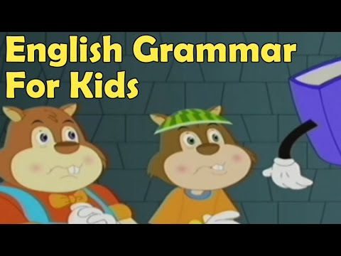 Basics of English Grammar For Kids - Noun, Verb, Adjective, Adverb