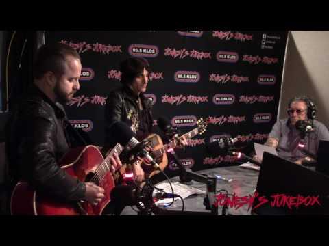 Jesse Malin performs on Jonesy's Jukebox