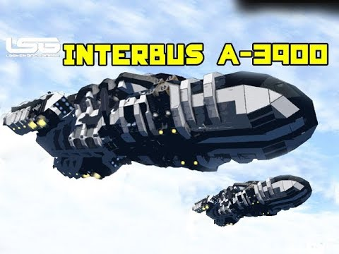 Swimming Pool !!! Interbus A-3900 Space Yacht - Space Engineers