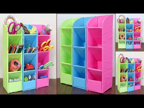 Home Storage and Organization Craft Idea || DIY Cardboard Craft Idea