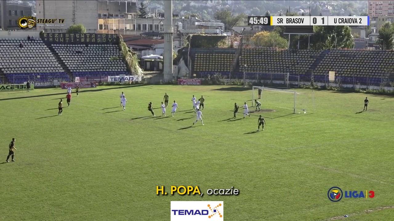 Rezumat | SR Brașov 1-1 CSU Craiova II | Et. 8, Liga a 3-a