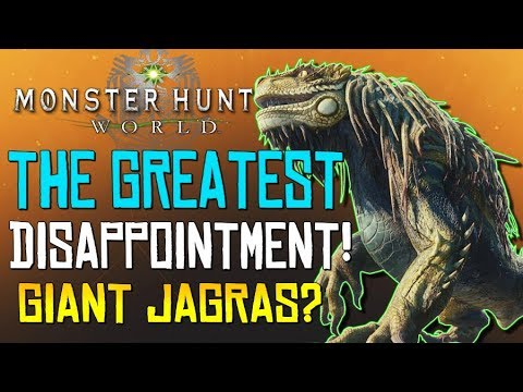 """Monster Hunter World - """"The Greatest Disappointment""""... We Waited 1 Year For This?! - #MHW thumbnail"""