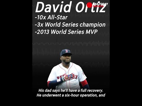 David Ortiz Expected to Make a Full Recovery From Gun Shot Wound