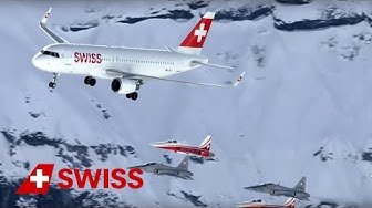 Airshow with SWISS Airbus A321 and Patrouille Suisse  | SWISS